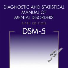 APA (2013) Diagnostic and Statistical Manual of Mental Disorders- DSM-5