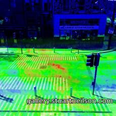 Stuart Neilson - 2b6 Singer Corner pedestrian crossing (motion heat-map)