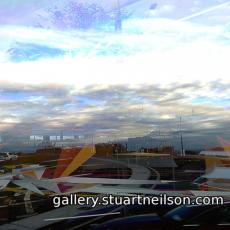 Stuart Neilson - 2d1 Cork Airport paper planes sculptures (video montage)